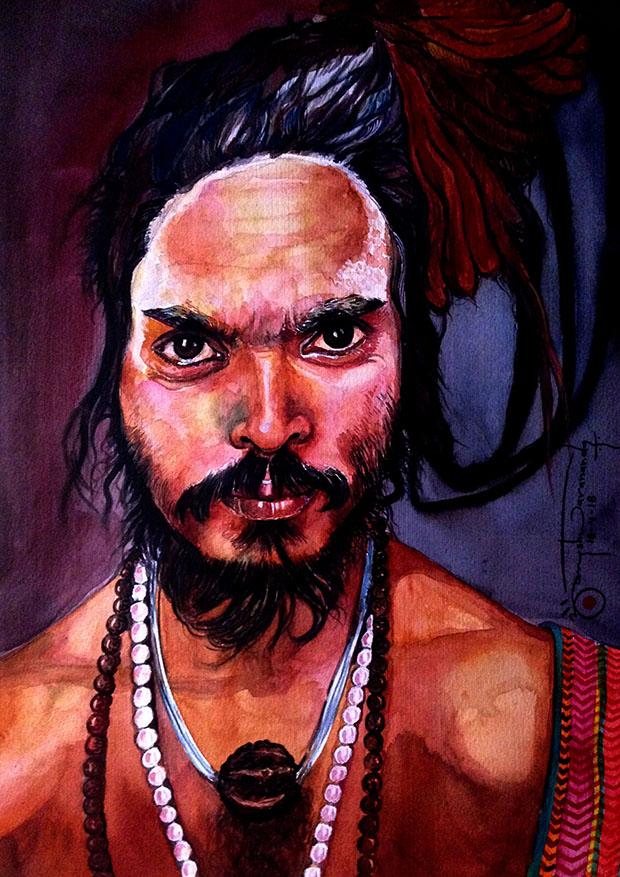 2. Naga Sadhu