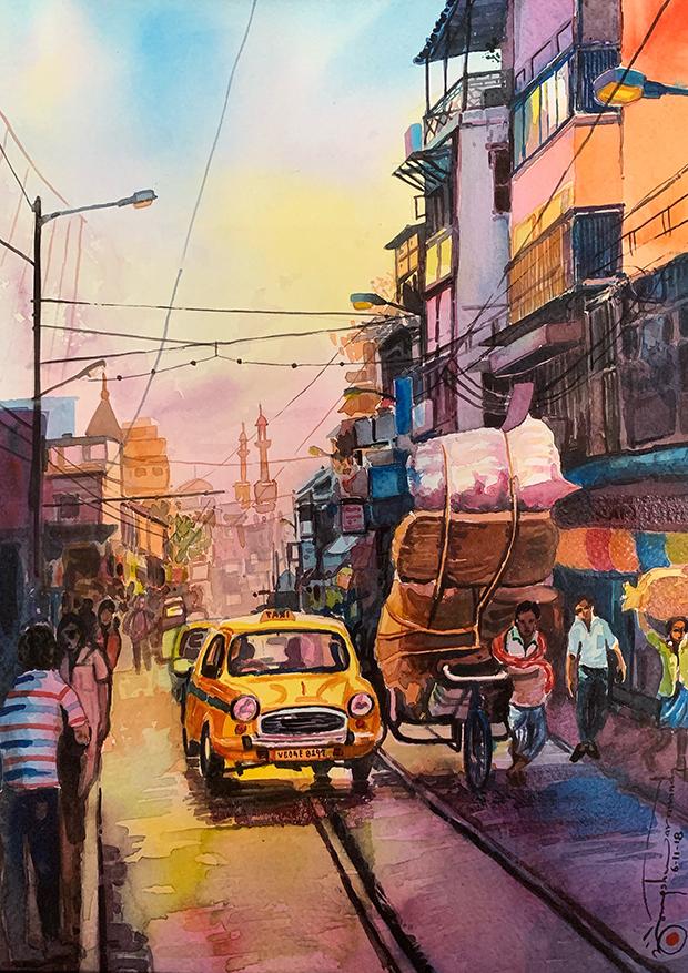 503) Strada di Calcutta 29X39