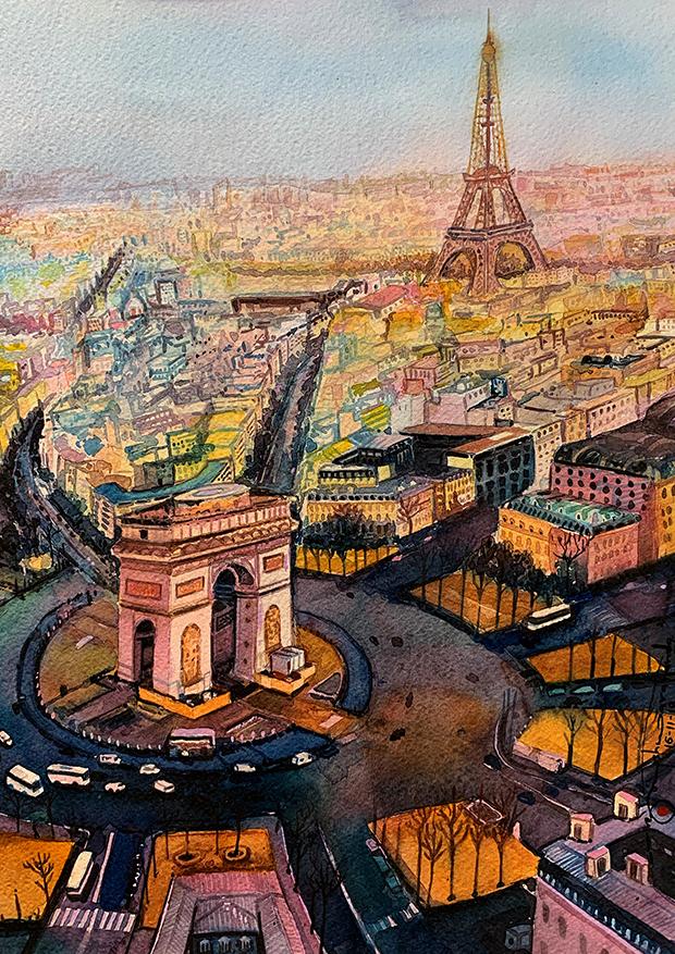 505) Arco di Trionfo (Parigi)