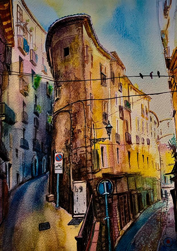 506) Antico Paese Italiano